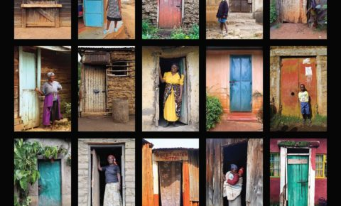 Doors of Kenya Poster