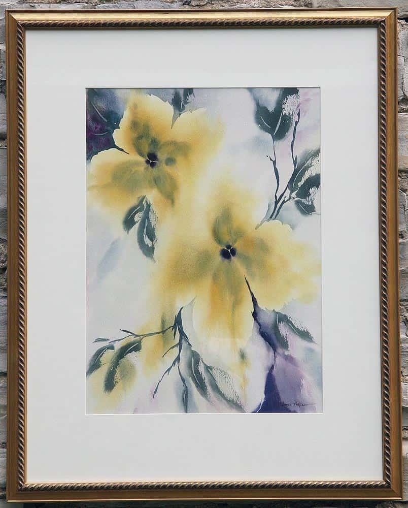 Doris Pontieri--Yellow Flowers