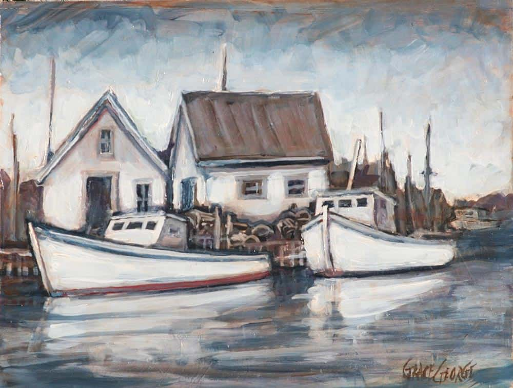 Grace George--Fishing Boats, South Shore