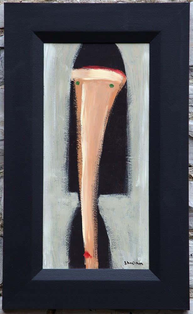 Shwan--Talking Heads (Oil 10 x 15) $550 Fr.
